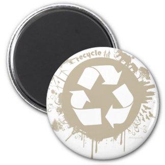 recycle splat magnet