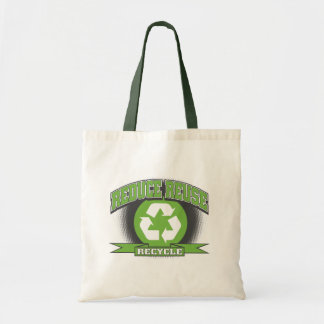 Recycle Sport Style Budget Tote Bag