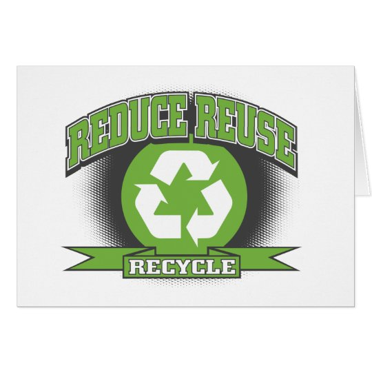 Recycle Sport Style Card