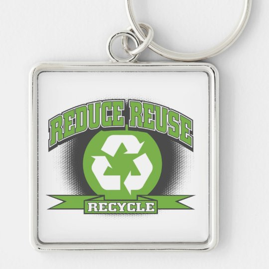 Recycle Sport Style Keychain