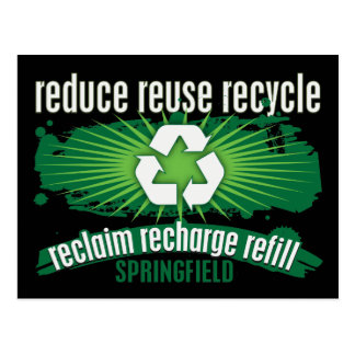 Recycle Springfield Post Card