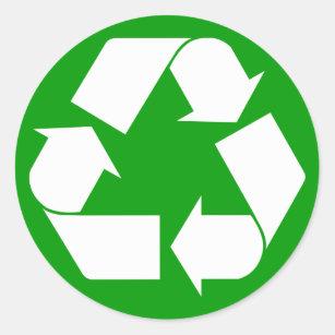 Recycling bin sticker A5 ...