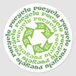 Recycle Stickers