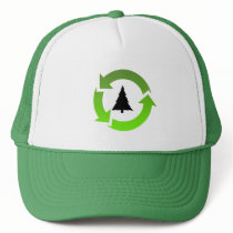 recycle stuff trucker hat