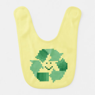Recycle Symbol Baby Bib