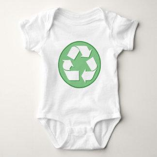 Recycle Symbol Baby Bodysuit