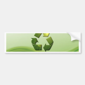 Recycle Symbol Bumper Stickers