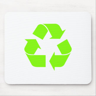 Recycle Symbol by Chillee Wilson Mouse Pad