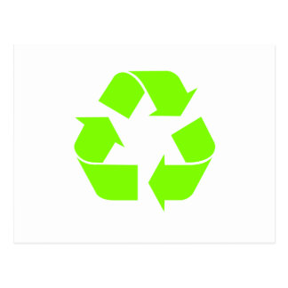 Recycle Symbol by Chillee Wilson Postcard
