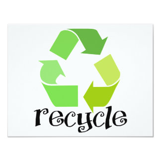 Recycle Symbol! Card