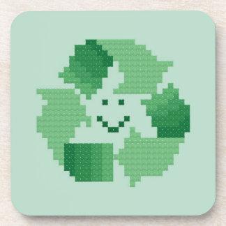 Recycle Symbol Coaster Set