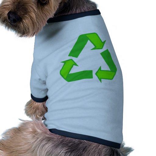 Recycle Symbol Design Pet Shirt