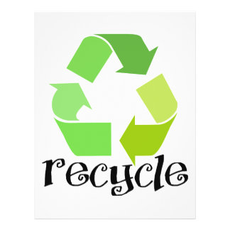 Recycle Symbol! Flyer