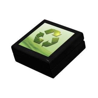 Recycle Symbol Gift Box