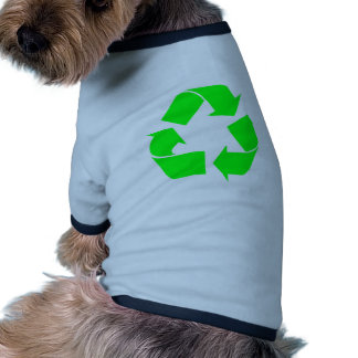 Recycle Symbol Green Dog Clothes