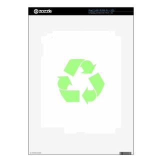Recycle Symbol iPad 2 Decal