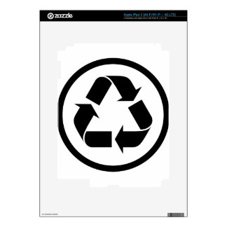 Recycle Symbol iPad 3 Skin