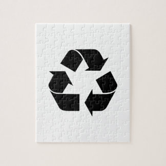 Recycle Symbol Jigsaw Puzzle