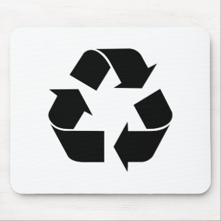 Recycle Symbol Mouse Pad