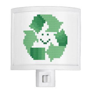 Recycle Symbol Night Light