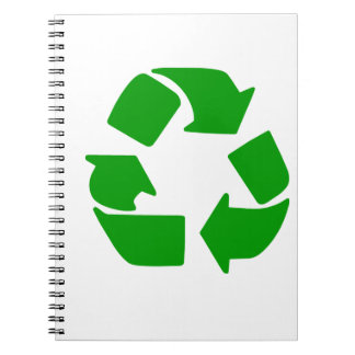Recycle Symbol Notebooks