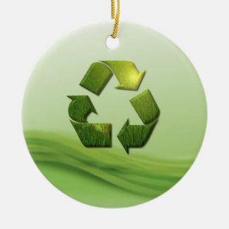 Recycle Symbol Ornament