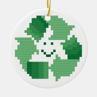 Recycle Symbol Ornament