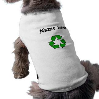 Recycle Symbol Pet T-shirt