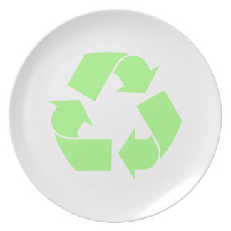 Recycle Symbol Plates