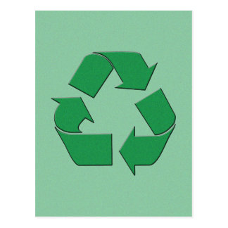 RECYCLE SYMBOL POST CARDS