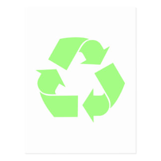 Recycle Symbol Postcard