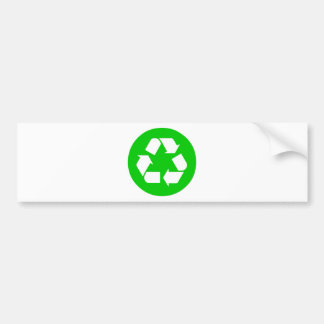 Recycle Symbol - Reduce, Reuse, Recycle Bumper Sticker
