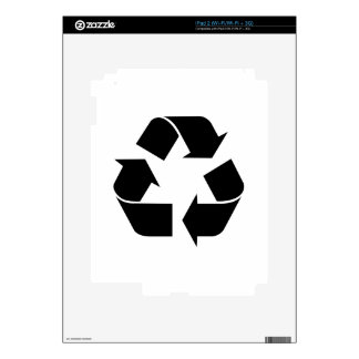 Recycle Symbol Skin For The iPad 2