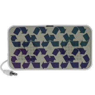 Recycle Symbol iPod Speaker