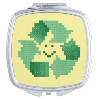 Recycle Symbol Vanity Mirror
