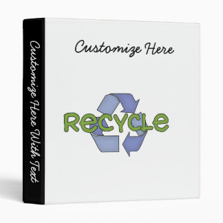 Recycle T-shirts and Gifts Binder