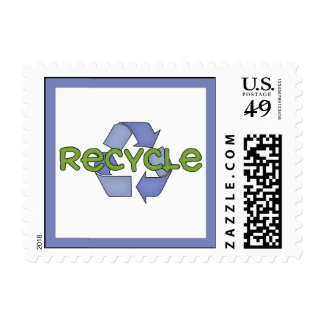 Recycle T-shirts and Gifts Postage Stamp