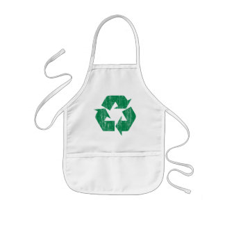 Recycle T-Shirts For Earth Day Kids' Apron