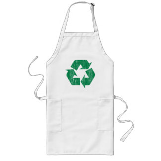 Recycle T-Shirts For Earth Day Long Apron