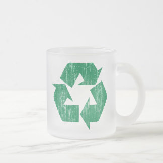 Recycle T-Shirts For Earth Day Mug