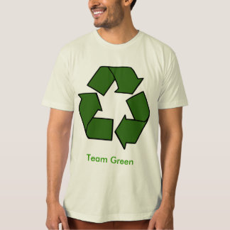 recycle, Team Green T-Shirt