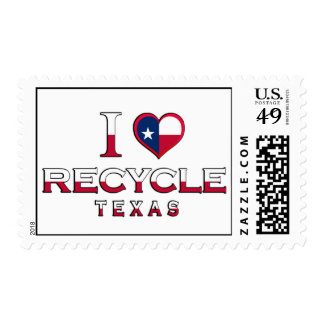 Recycle, Texas Postage Stamps