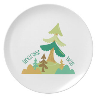 Recycle Those Papers Plates