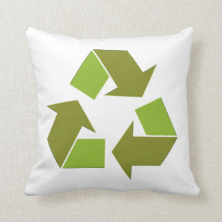 Recycle Throw Pillows