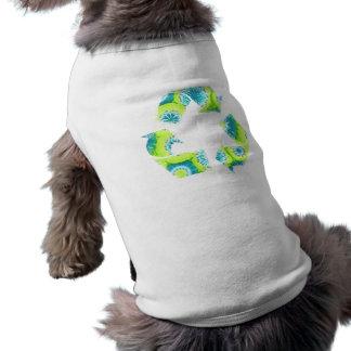 Recycle Tie Dye Pet Tee Shirt