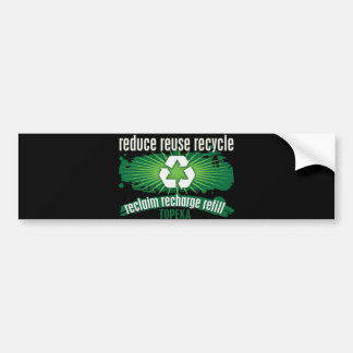 Recycle Topeka Bumper Sticker