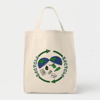 Recycle totebag bags