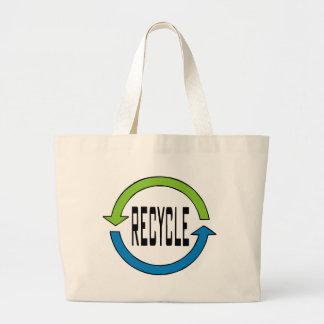 Recycle totebag large tote bag