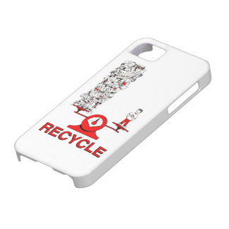 Recycle Trash iPhone 5 Case
