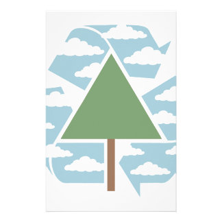Recycle - Tree -1 Stationery